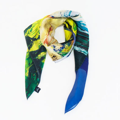 Newcastle, County Down - Silk Scarf