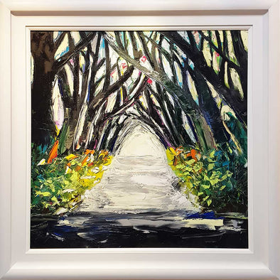 Hedges - Original Painting