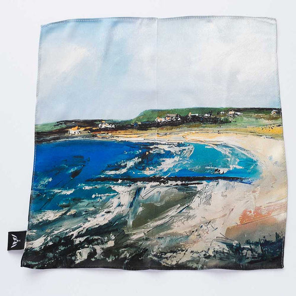 Portballintrae - Silk Pocket Square