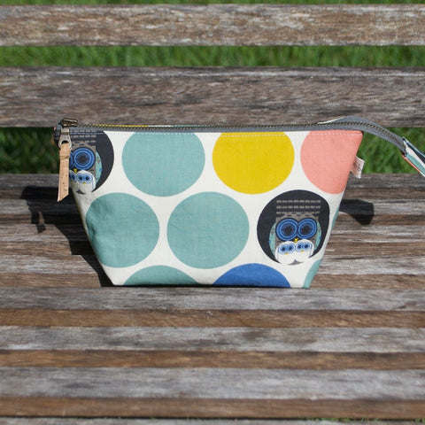 Open Wide Pouch Charley Harper Family Owlbum - 3 Sizes