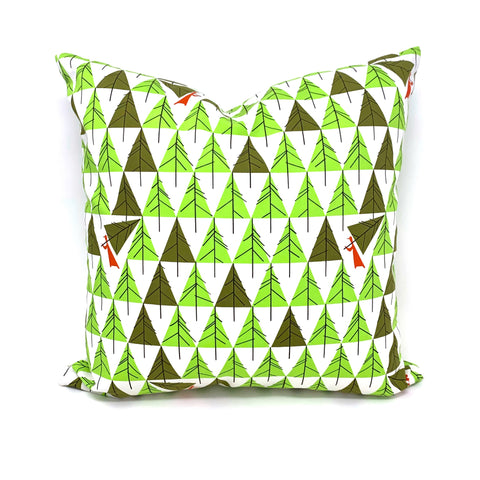 Throw Pillow Cover Charley Harper Perfect Tree