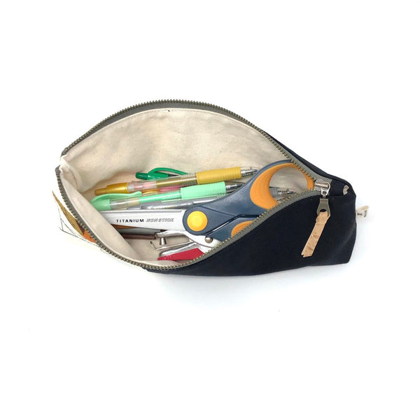Pencil/Oblong Pouch Charley Harper Bird Architects