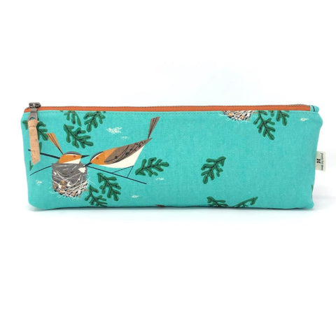 Pencil/Oblong Pouch Charley Harper Red Eye Vireo