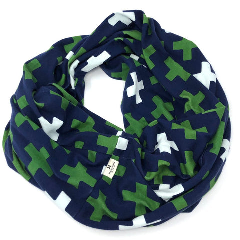 Infinity Scarf Navy Cross