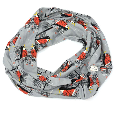 Infinity Scarf Charley Harper Round Robin