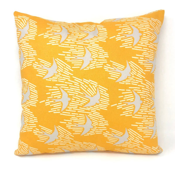 Throw Pillow Cover Gold Whitehaven
