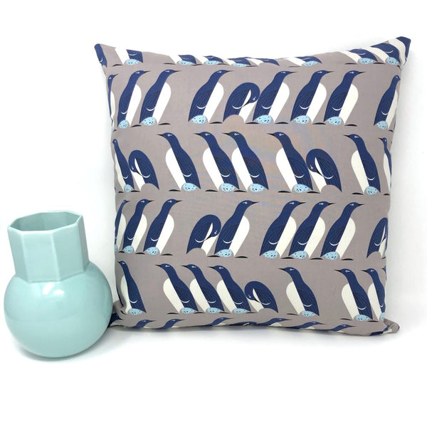 Throw Pillow Cover Charley Harper Murre