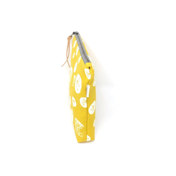 Slim Zip Pouch Yellow Jelly - 3 Sizes