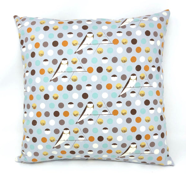 Throw Pillow Cover Charley Harper Bank Swallow Sky