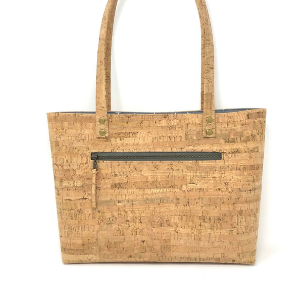 Bucket Handbag Sustainable Cork - Customize Your Lining!