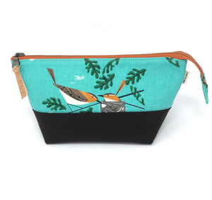 Open Wide Pouch Charley Harper Vireo - 3 Sizes