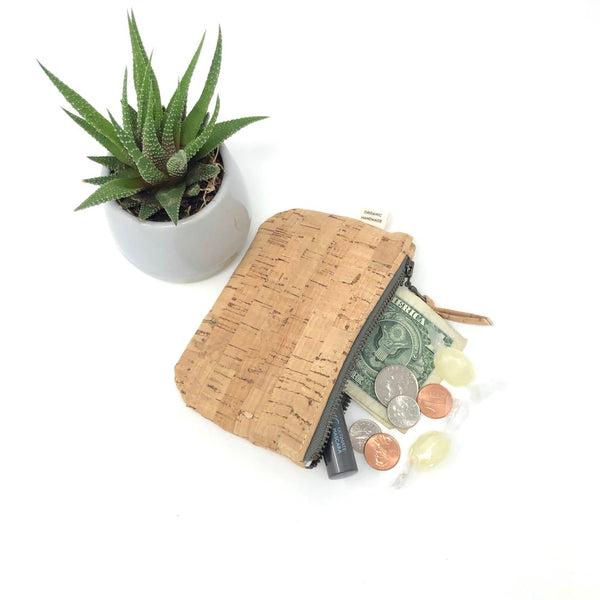 Coin Pouch Sustainable Cork