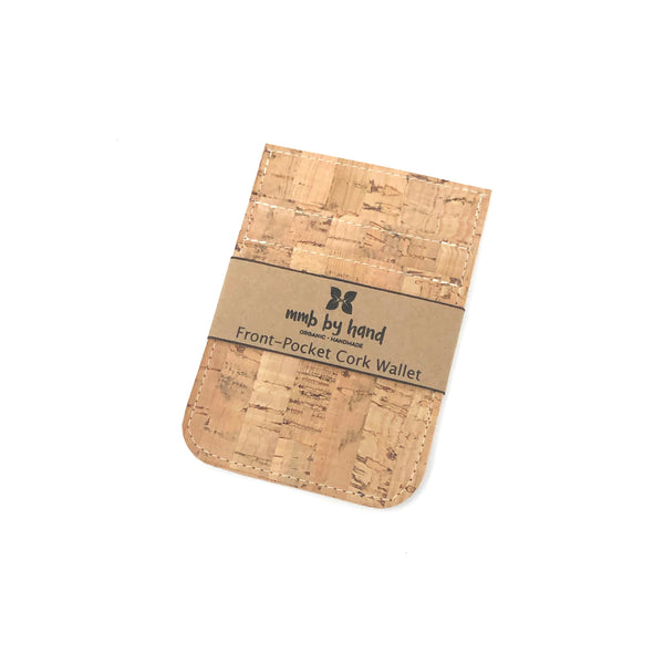 Front Pocket Wallet Sustainable Cork