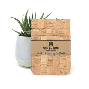 Wallet, Cork Front Pocket
