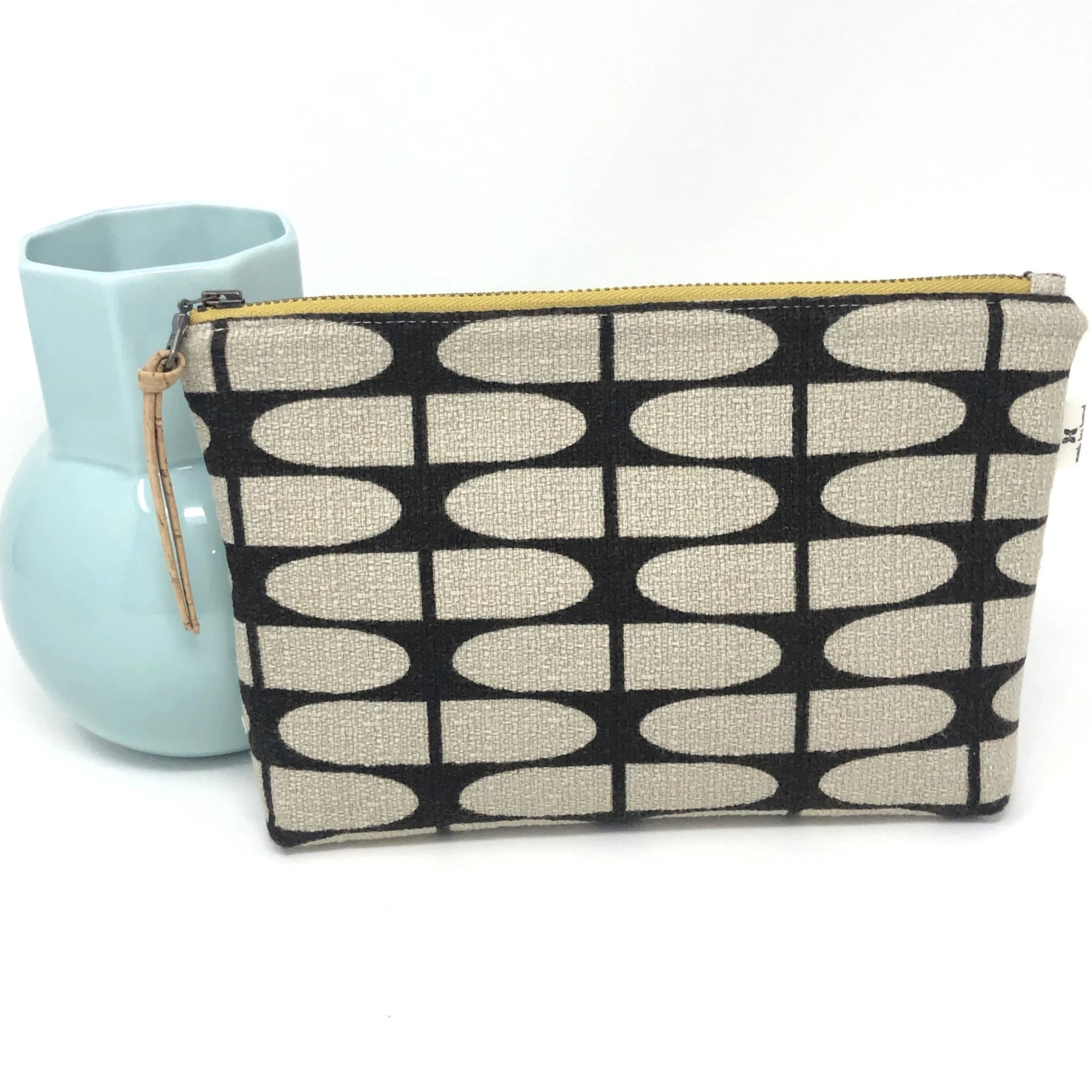 Slim Zip Pouch Brown Half Life - 3 Sizes
