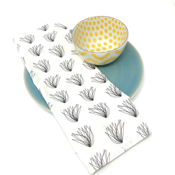 Organic Napkins - Set of 4 Charley Harper Cream Wings