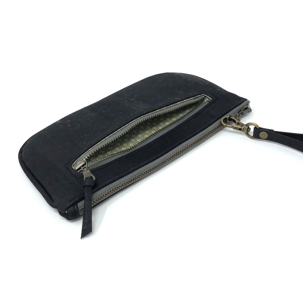 Essential Clutch Sustainable Black Cork - Choose Lining