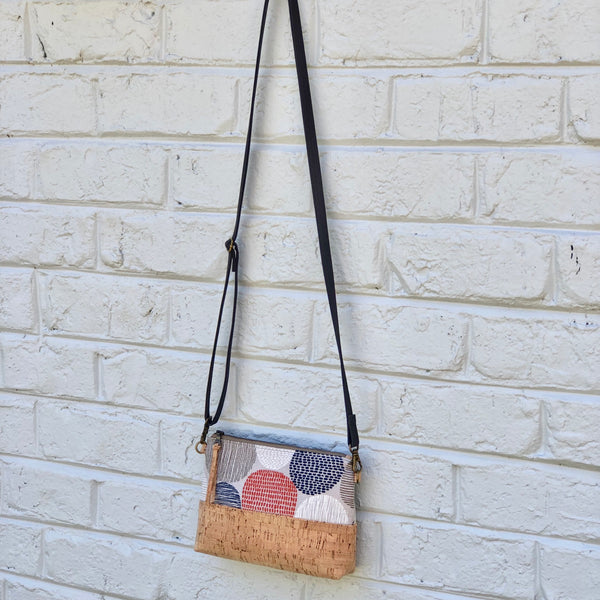 Organic & Cork Mini Crossbody