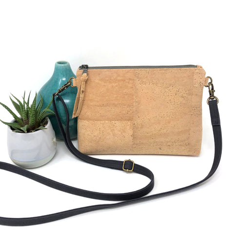 Sustainable Cork Mini Crossbody
