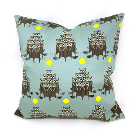 Throw Pillow Cover Charley Harper RaccPack