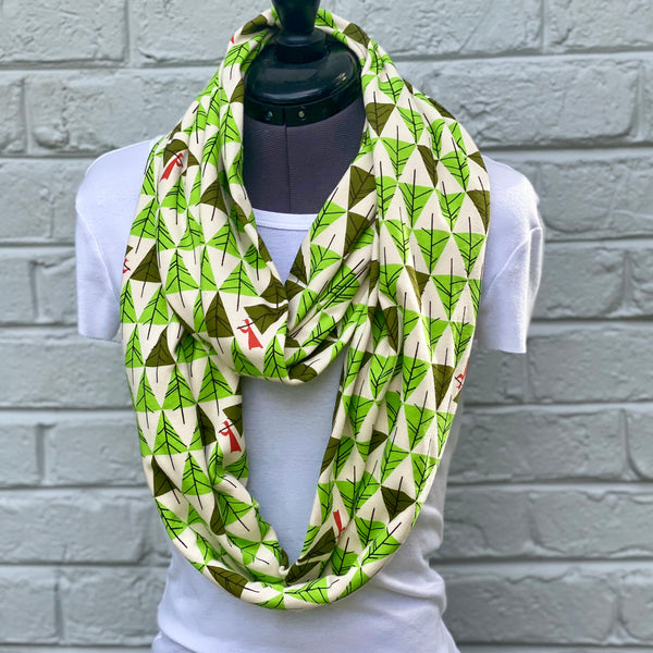 Infinity Scarf Charley Harper Perfect Tree