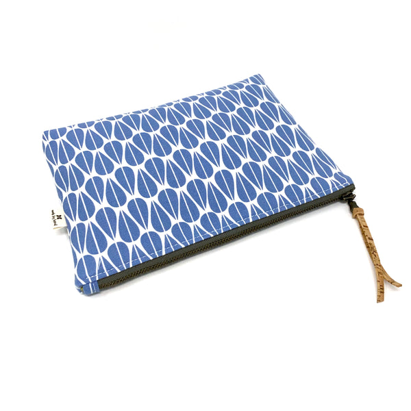Slim Zip Pouch Little Leaves - 3 Sizes