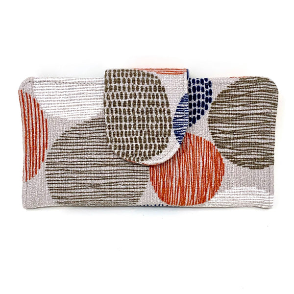 Organizer Wallet Stepping Stones Retro Modern