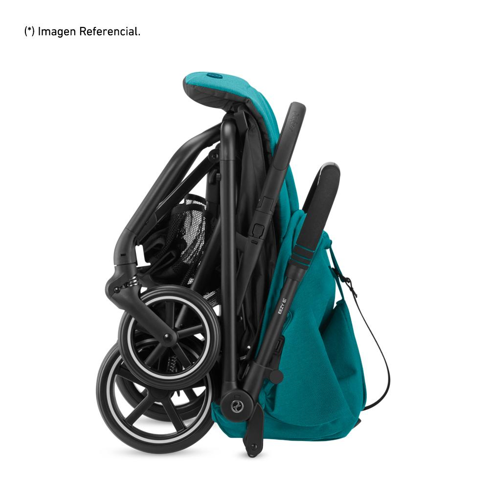 Travel System Eezy S V2 Plus Negro + Aton5 + Base