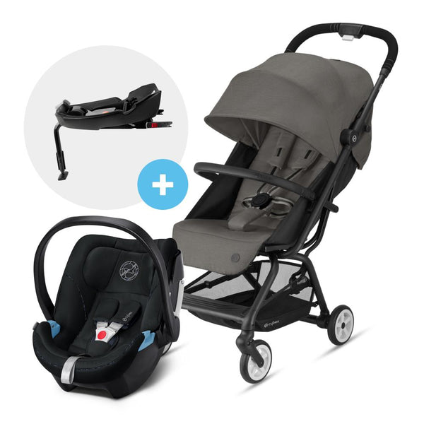 Travel System Eezy S V2 Gris + Aton5 + Base