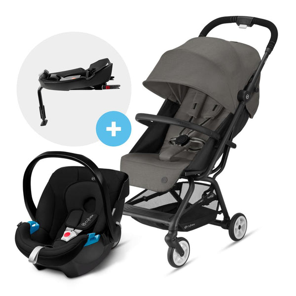 Travel System Eezy S V2 Gris + Aton + Base