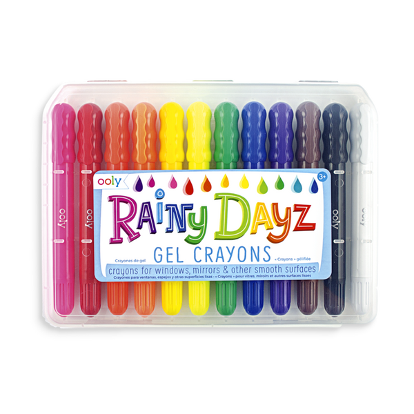 12 lápices de cera gel Rainy Dayz