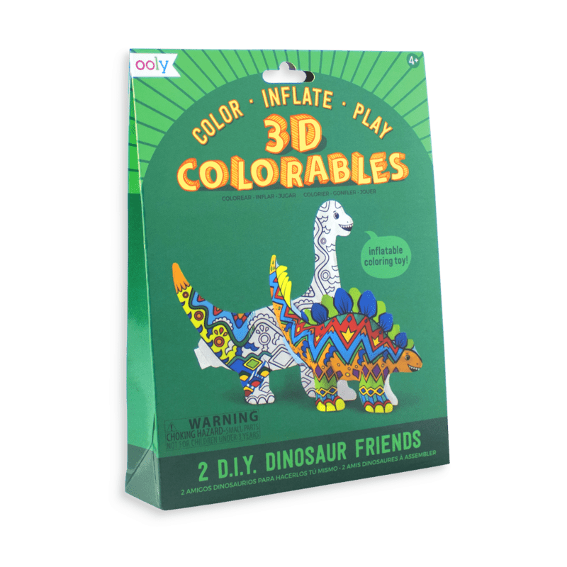 Colorables 3D- Set de 2 Dinosaurios