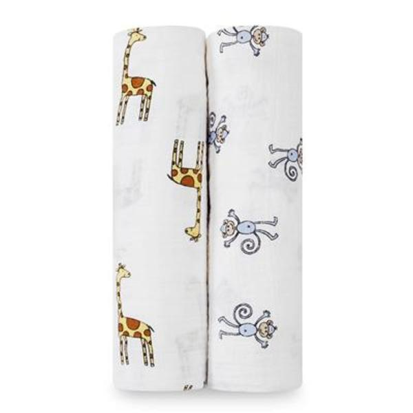 Swaddle 2 pack - Jungle Jam