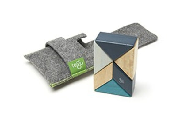 Tegu On the Go Prism Pouch: blues