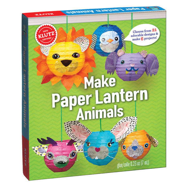 Libro Kit Lámparas de Papel de Animales