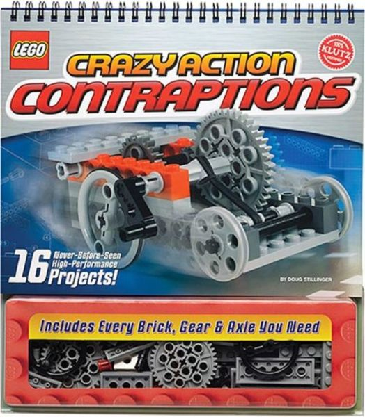 Libro Kit Lego Crazy Action Contraptions