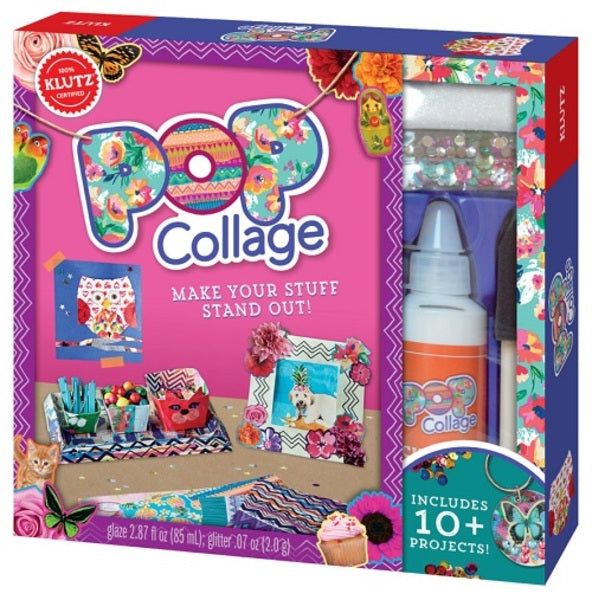 Libro Kit Pop Collage