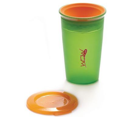 Vaso antiderrame juicy verde