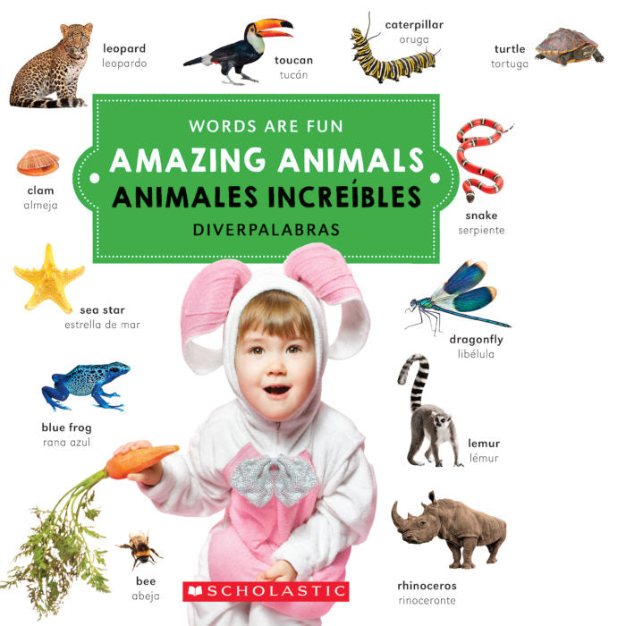 Libro Amazing Animals/Animales Increíbles