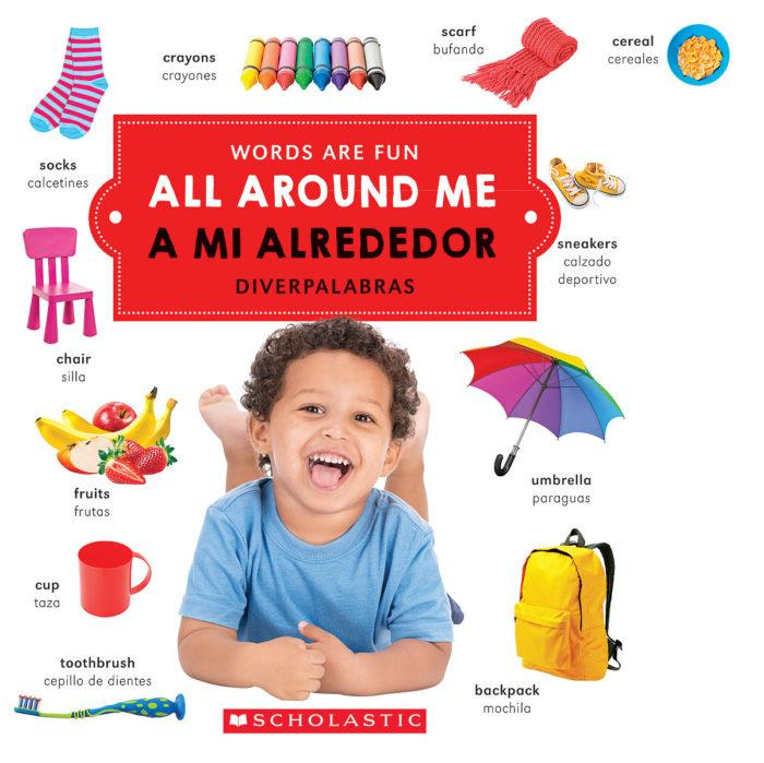 Libro All Around Me/Todo a mi Alrededor