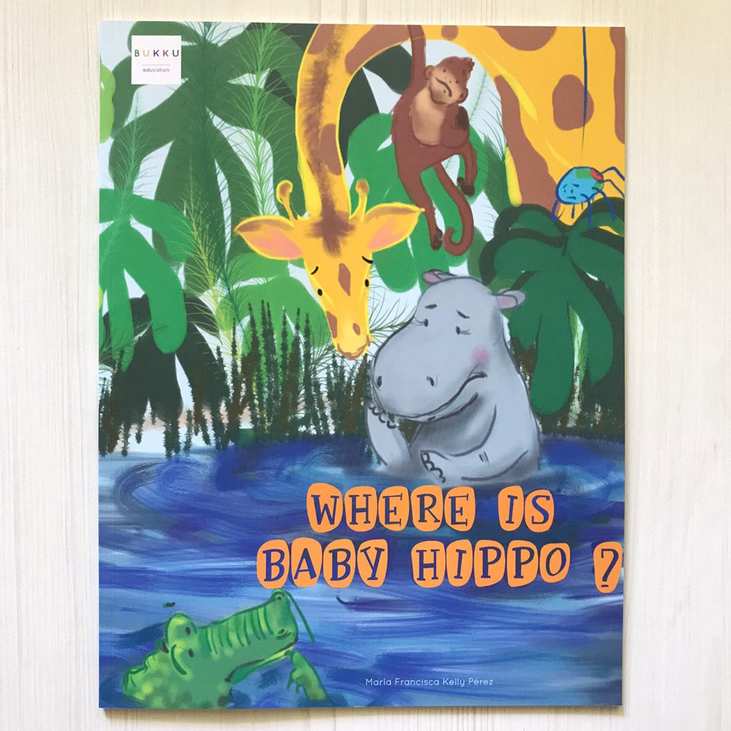 Libro en Inglés: Where is Baby Hippo?