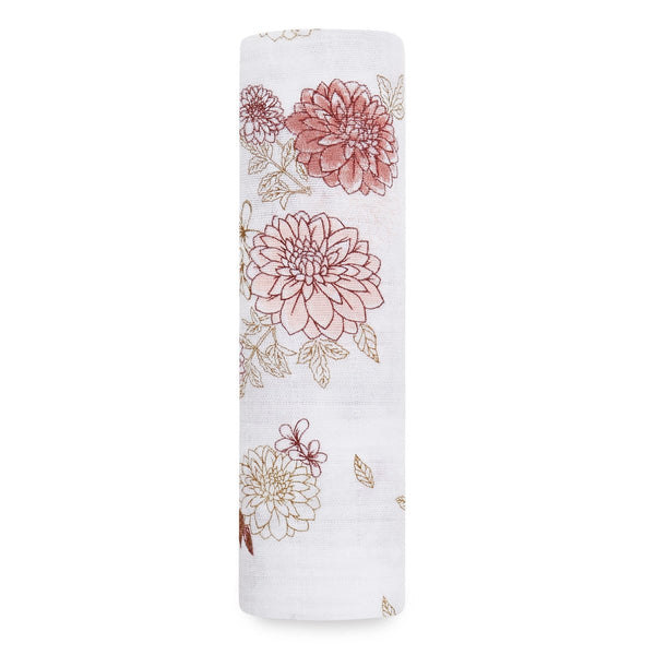 Swaddle 1 pack - Dahlias