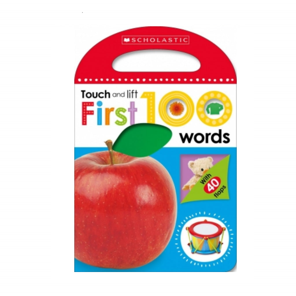 Libro toca y levanta: First 100 Words