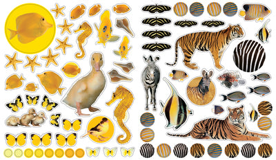 Libro Eyelike Stickers: Animales