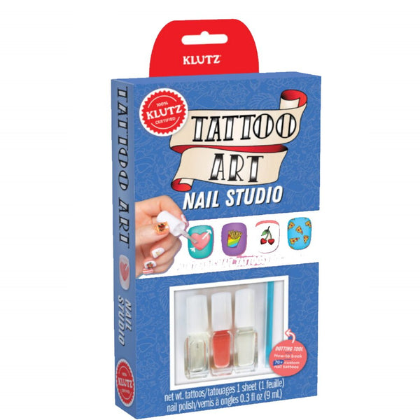Kit Estudio de Uñas: Tattoo Art