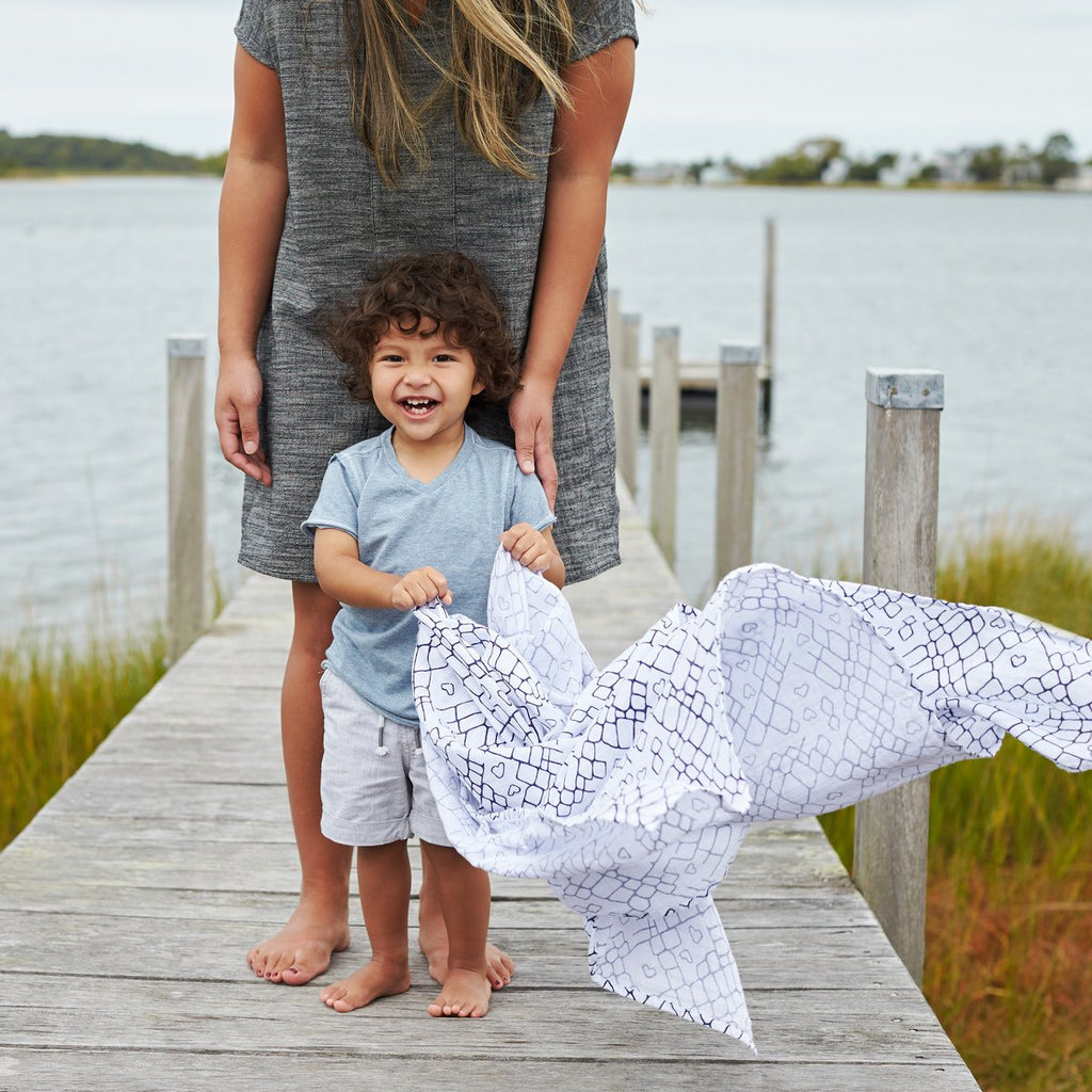 Swaddle 2 pack - Gone Fishing