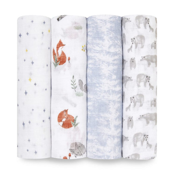 Swaddle 4 pack - Naturally