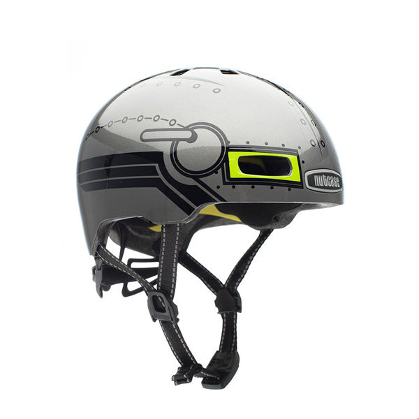 CASCO LITTLE NUTTY ROBO BOY GLOSS MIPS