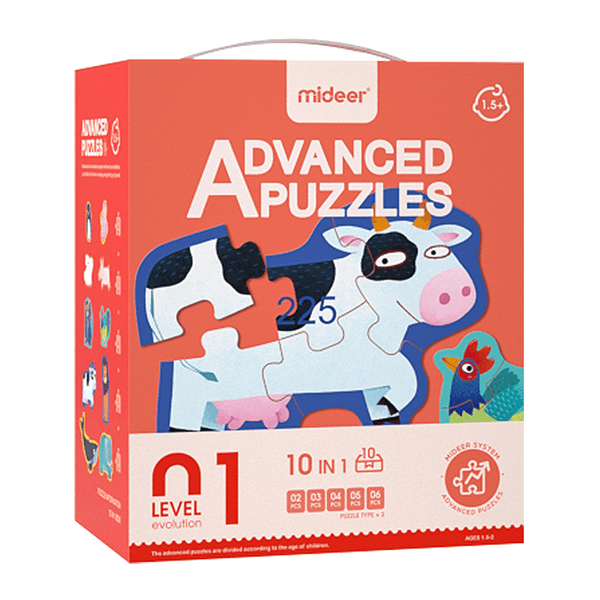 Puzzles Advanced Nivel 1 Animales