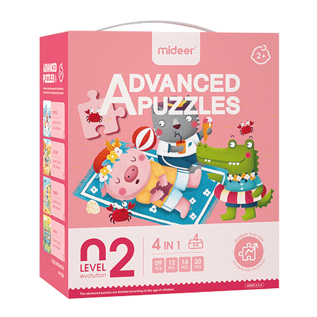 Puzzles Advanced Nivel 2 Cuatro Estaciones